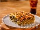 Рецепта Вкусна печена агнешка дроб сарма с дреболии и ориз на фурна